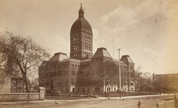 Second State Capitol, 1886.