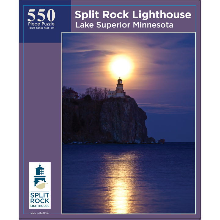 Split Rock Lighthouse Puzzle.