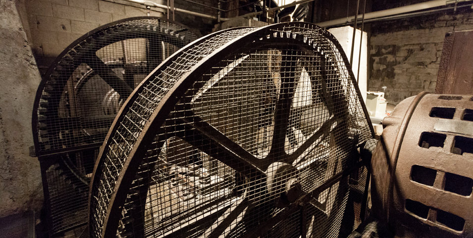 Mill equipment.