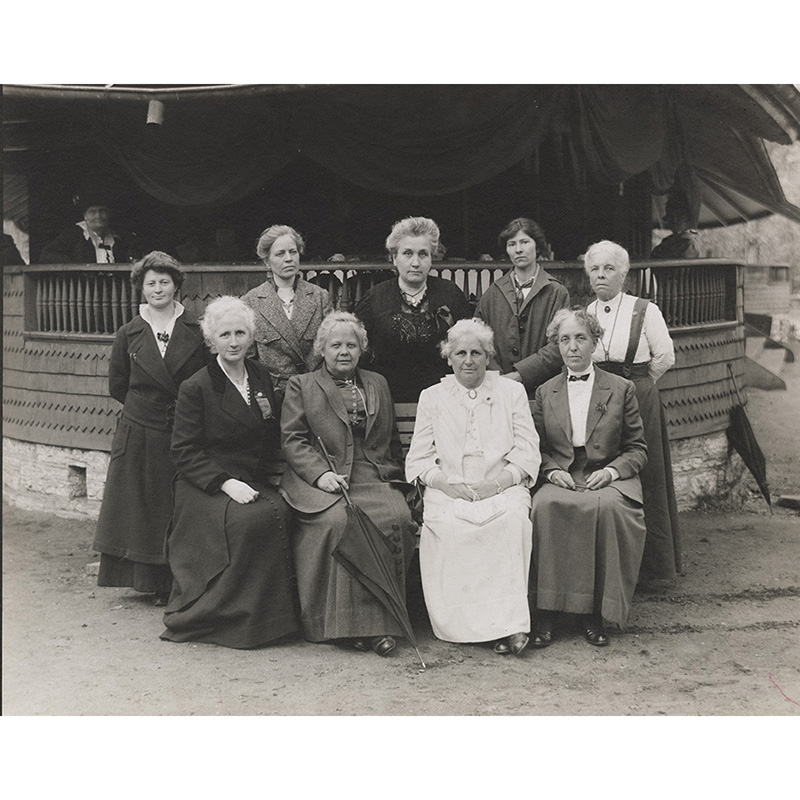 Political Equality Club leaders, about 1915.