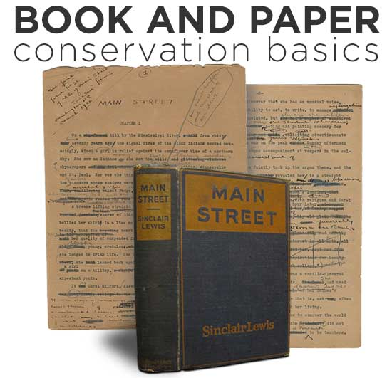Book and Paper Conservation Basics