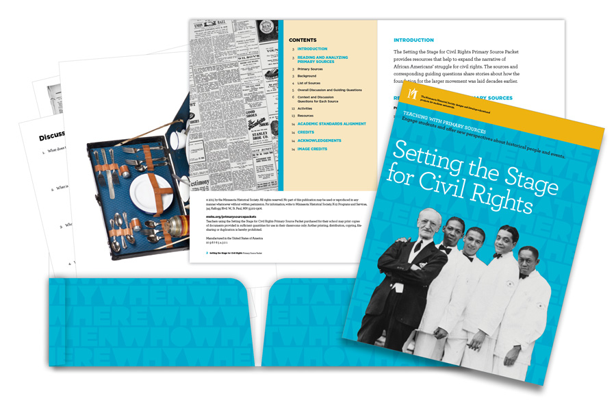 Setting the Stage for Civil Rights Primary Source Packet at a glance.