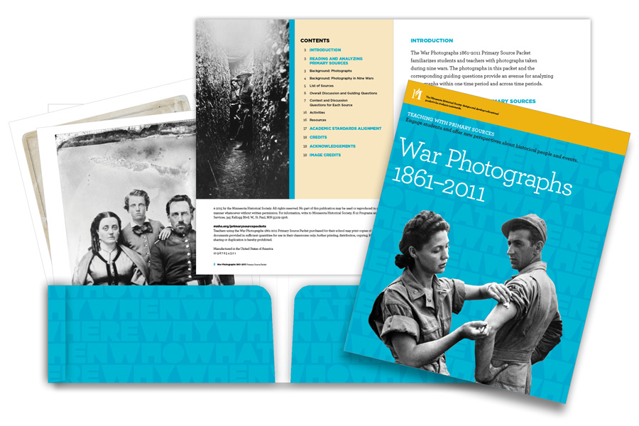 War Photographs 1861–2011 Primary Source Packet at a glance.