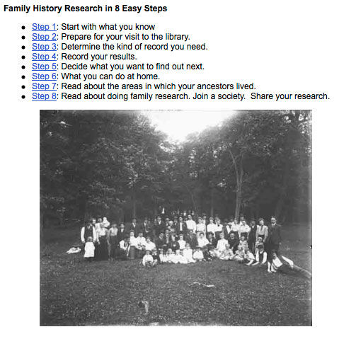Family History Guide