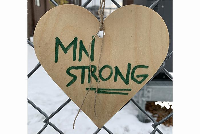 Minnesota strong.