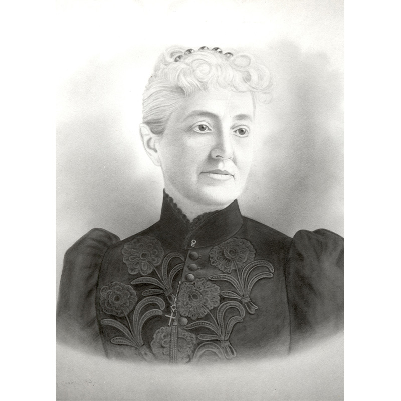 Sarah Gates Baird, about 1893.