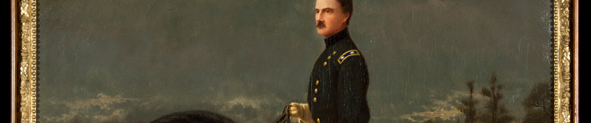 Painting of Henry Hastings Sibley in a uniform.