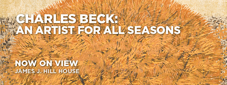 Charles Beck, an artist for all seasons, now on view, Minnesota History Center.
