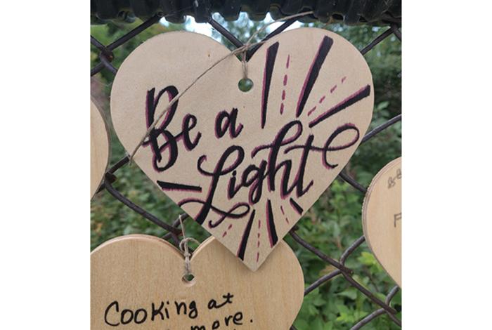Be a light.