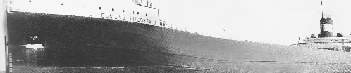 Edmund Fitzgerald at launch