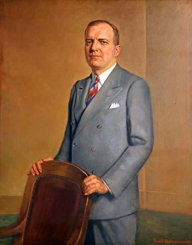 Painting of Harold E. Stassen