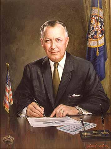 Painting of Elmer Anderson