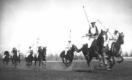 Polo at Fort Snelling. Location no. GV3.213 r10