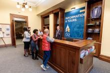 Minnesota State Capitol information desk
