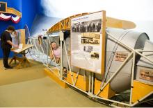 Charles Lindbergh House and Museum exhibit gallery