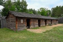 Snake River Fur Post reconstructed post