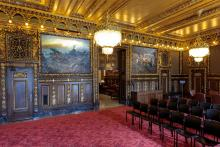 Minnesota State Capitol Governor's reception room