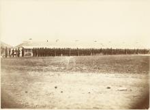 Second Minnesota Volunteer Infantry at Fort Snelling, 1861