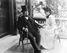 Alexander Ramsey & granddaughter Laura Furness, 1901