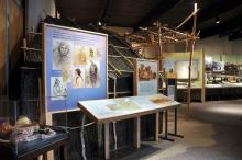 Lower Sioux Agency visitor center exhibit