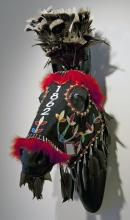1862 Sung Ite Ha horse mask ​made by James Star Comes Out  2012