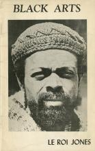 Book cover of Black Arts by LeRoi Jones
