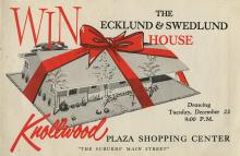 Ecklund & Swedlund Advertisement, 1958