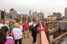 Mill City Museum walking tour