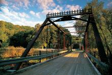 Historic Forestville bridge