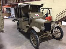 WW1 America ambulance