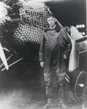 Charles Lindbergh and the Spirit of St. Louis, 1927