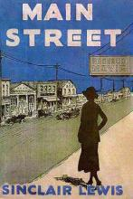 Image of book jacket for Main Street 1920