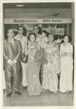 Preeti Mathur at Bombay airport