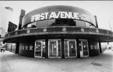 First Avenue in 1990 photo by Daniel Corrigan