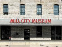 Mill City Museum Entrance