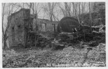 Ruins of Marine Mill, 1940 (photo by Calvin Rutstrum)