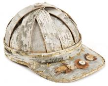 Pat Kruse birch bark baseball hat