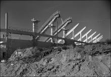 Sloped girders