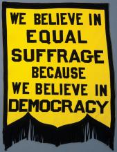 St. Paul Equity Club suffrage banner