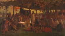 'The Signing of the Treaty of Traverse des Sioux' painting by Frank B. Mayer