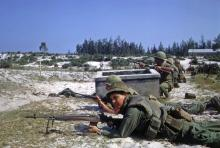 Image of soldiers in Viet Nam during Tet Offensive