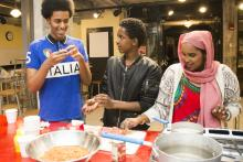 Somali teens test recipes at Mill City Museum