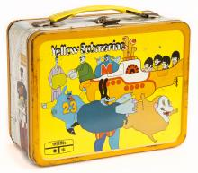 """Yellow Submarine"" lunch box"