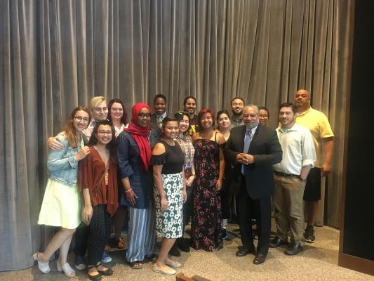 HMFP 2017 with Dr. Lonnie Bunch of NMHAAC