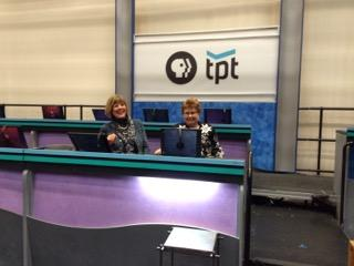 Tour at new TPT Television Studios
