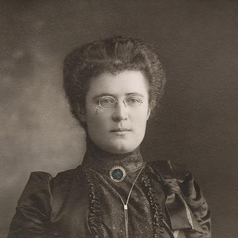 Theresa Peyton, about 1912.