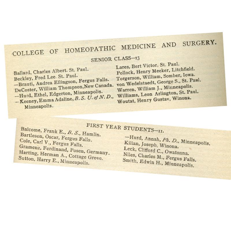 University of Minnesota Catalogue, 1896-97.