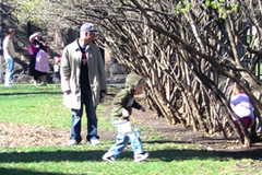 Easter Egg hunt at James J. Hill House