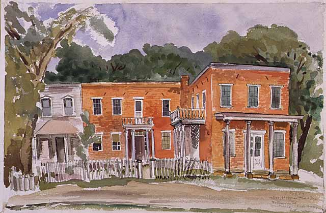 Meighan store watercolor