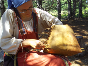 Demonstrating the utility of birchbark